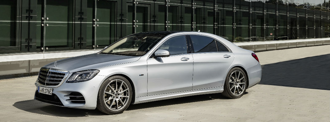 2019 S-Class Sedan side view
