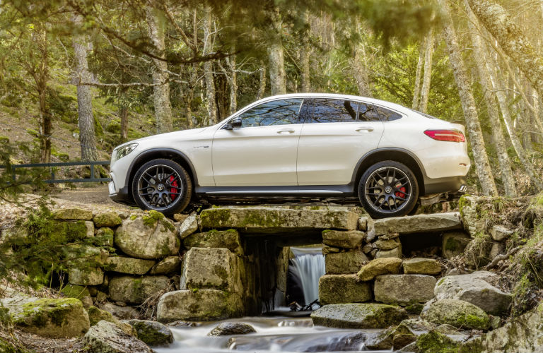 2018 Amg Gle Coupe White Side Forest O Mercedes Benz Of Scottsdale