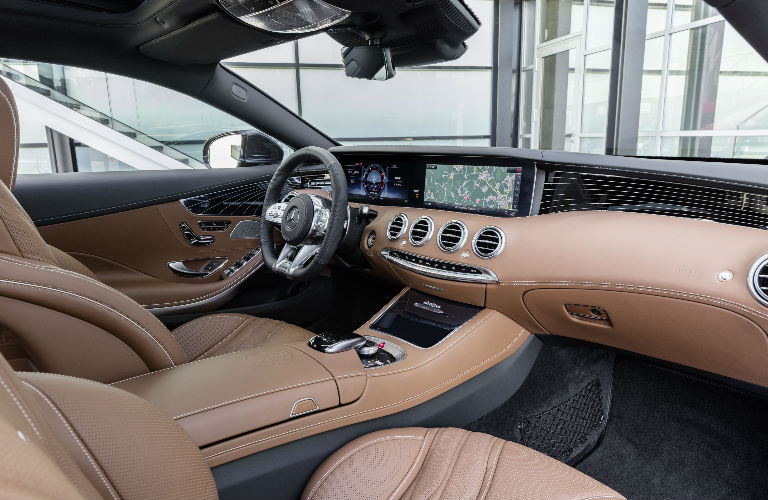 2018 S Class Coupe Brown Command Center O Mercedes Benz Of Scottsdale