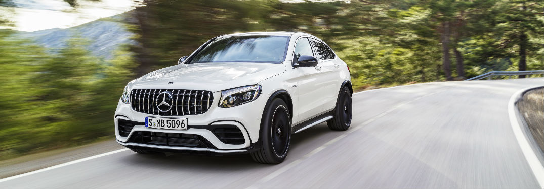 2018 AMG GLE Coupe in White
