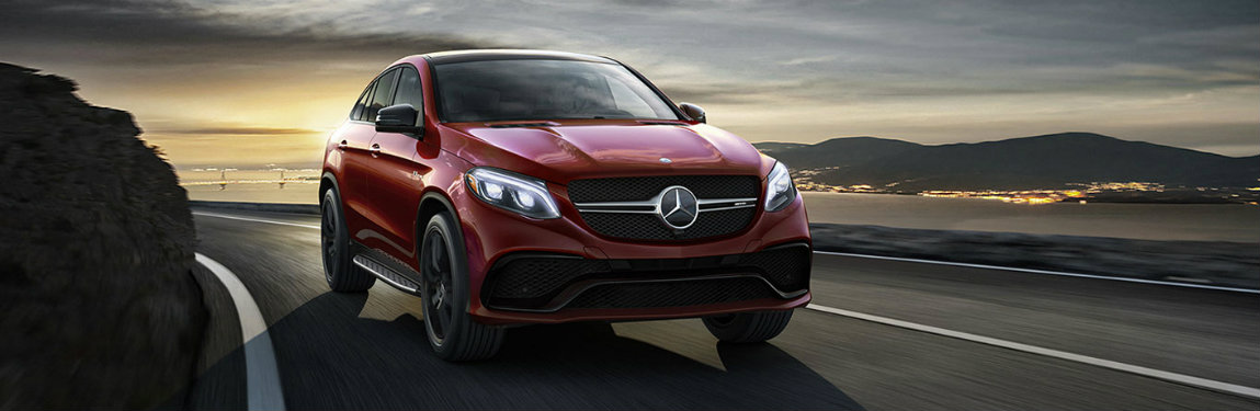 2018 GLE SUV in Red