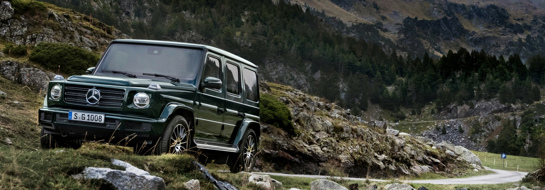 Mercedes Benz Debuts New G Class At The 2018 Detroit Auto Show
