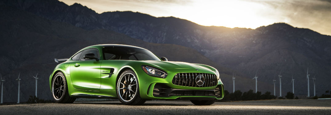 how fast is the 2018 mercedes amg gt r sports coupe
