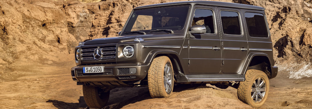 When will the 2019 G-Class be released in the U.S.?