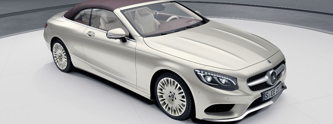 2019 Mercedes Benz S Class Coupe And Cabriolet Exclusive Edition Design