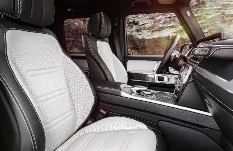 2019 G Class Interior Grey White O Mercedes Benz Of Scottsdale
