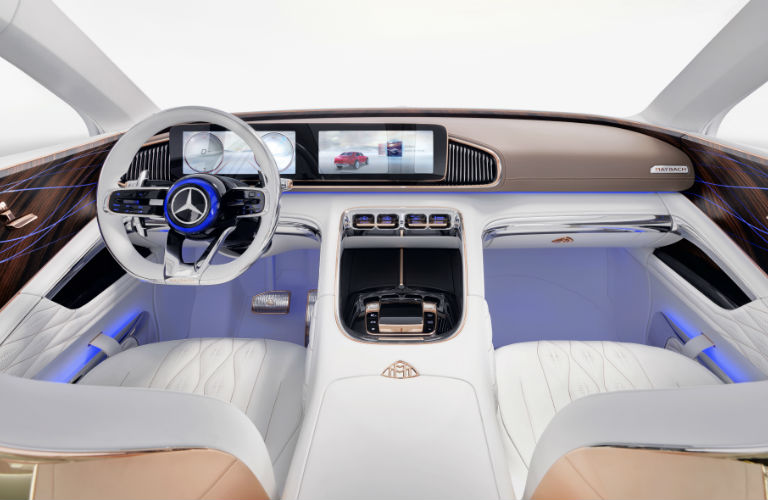 Vision Mercedes-Maybach Ultimate Luxury Command Center