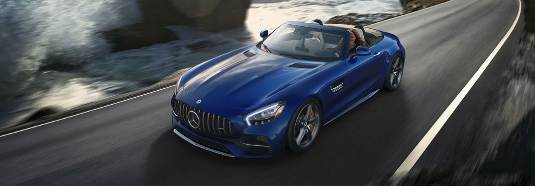 2018 AMG GT Roadster in Blue