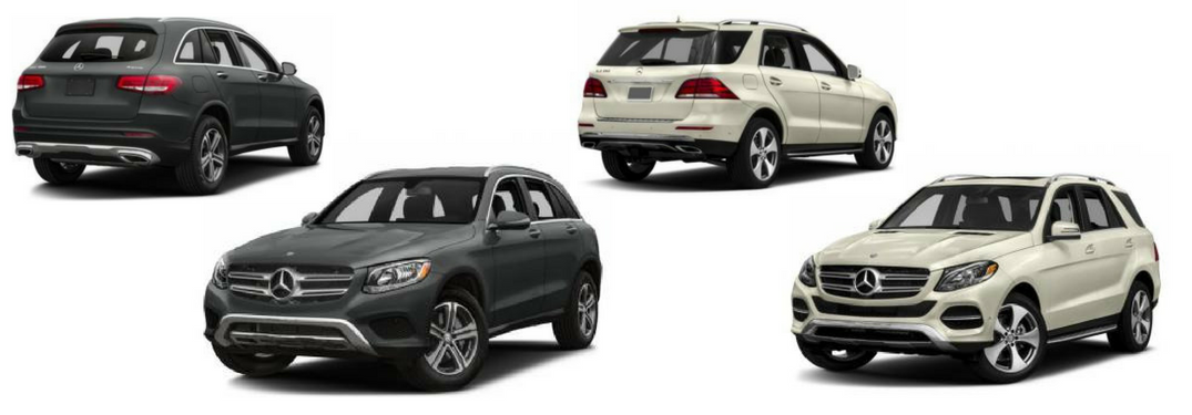 ... 2018 Mercedes Benz Glc 300 And Gle 350 Side By Side