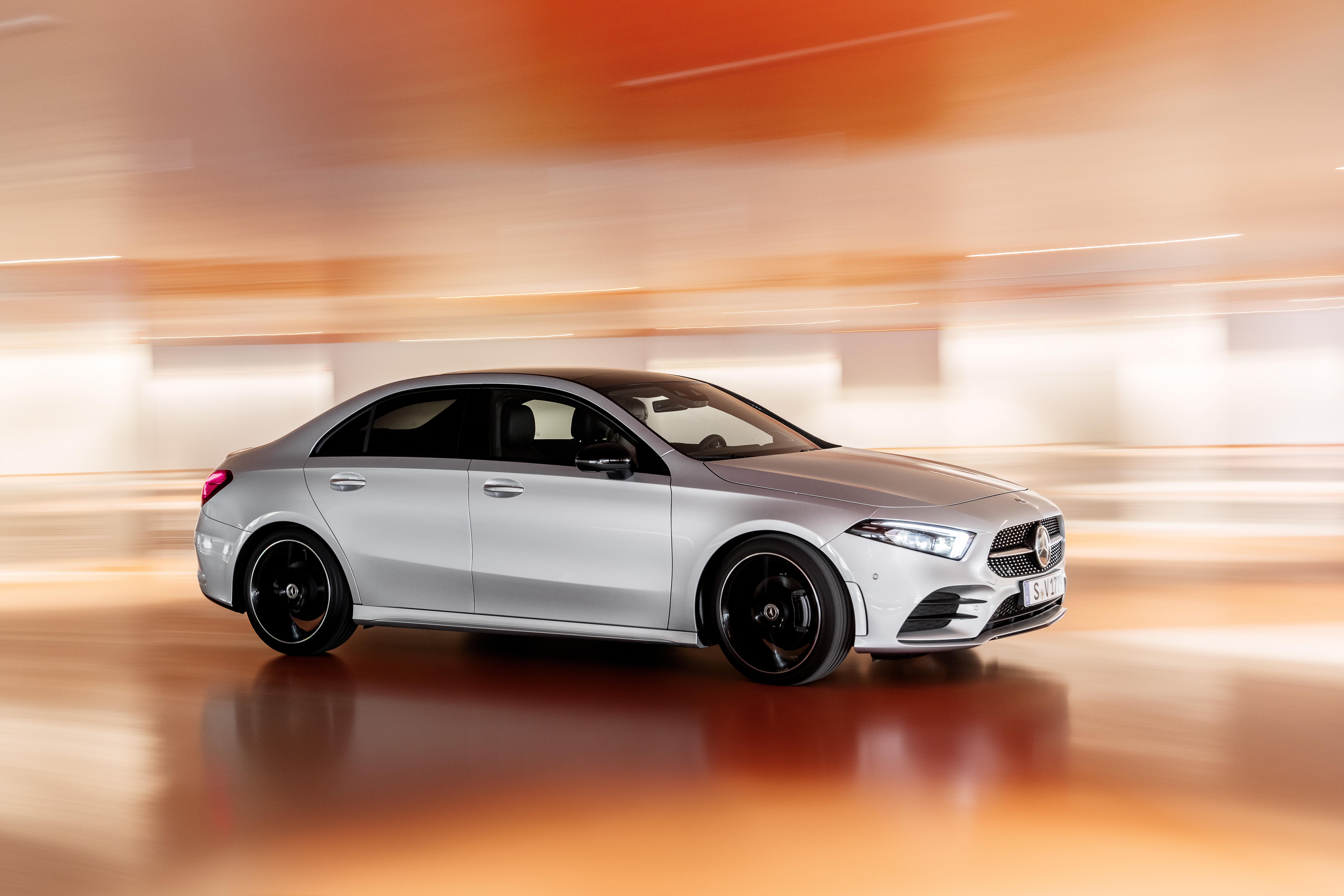 Mercedes Benz A Klasse Limousine V 177 2018 Mercedes Benz A