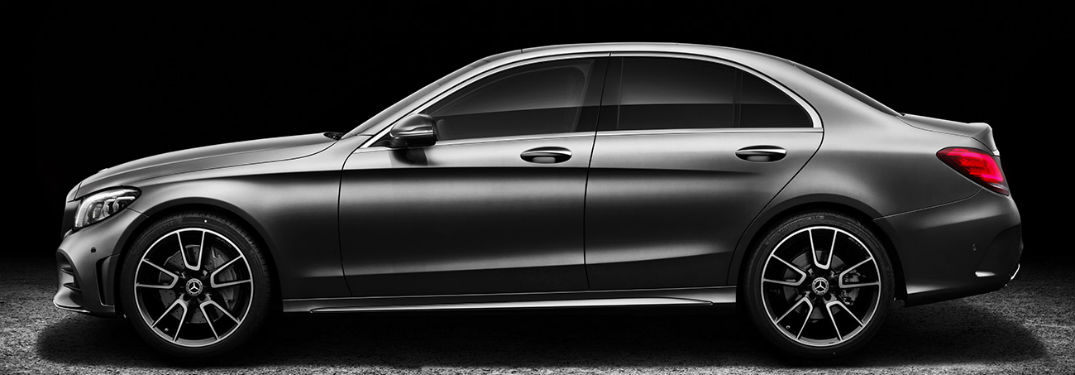 2019 MB C-Class sedan exterior drivers side profile