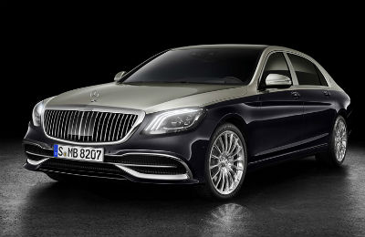2019 MB S-Class exterior front fascia and drivers side