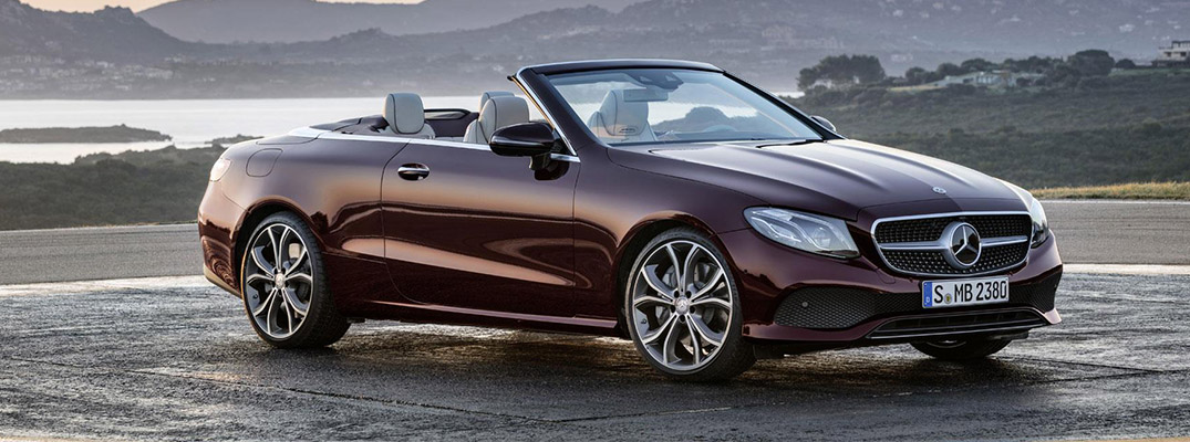 2018 mercedes-benz convertible in purple