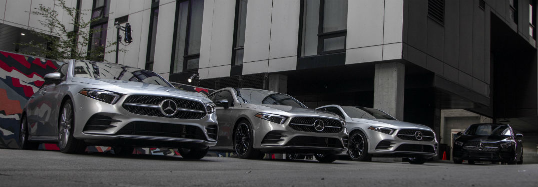 2019 Mercedes Benz A-Class vehicles front fascia