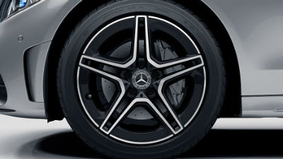 2019 MB C-Class exterior close up of wheels
