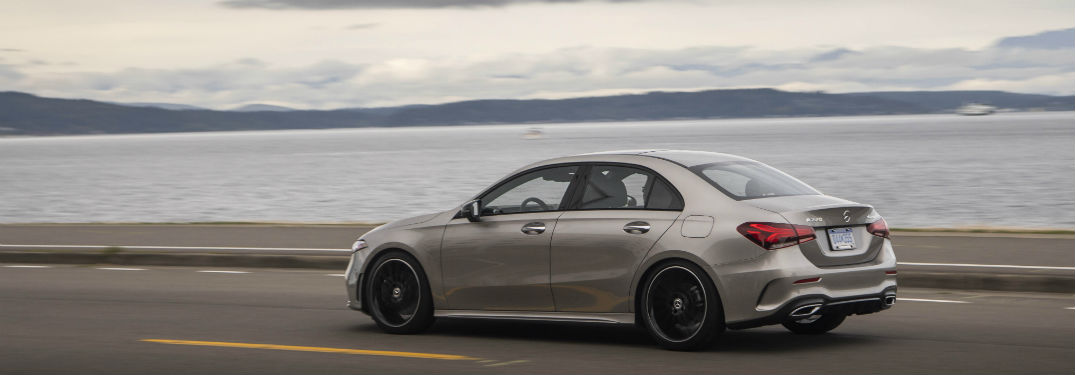 2019 MB A-Class exterior back fascia and drivers side