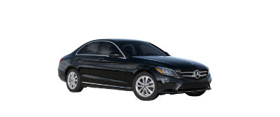 2019 MB C-Class front fascia and drivers side Black