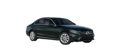 2019 MB C-Class front fascia and drivers side Emerald Green Metallic