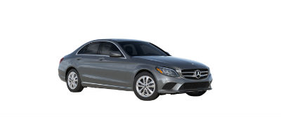 2019 MB C-Class front fascia and drivers side Selenite Gray Metallic