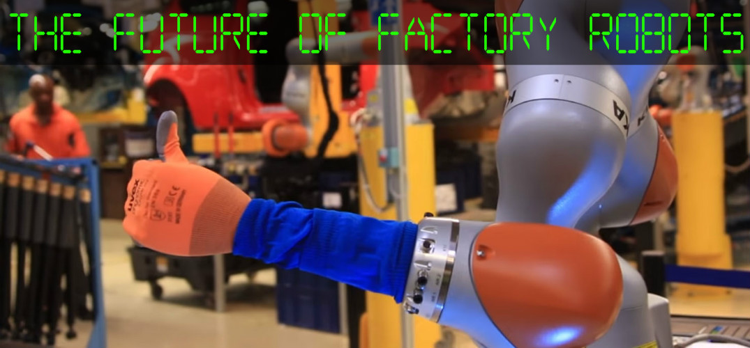 What kinds of robots does Ford use in its factories?