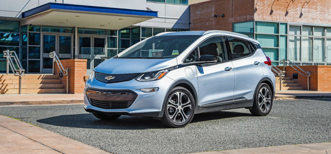 2017 Chevy Bolt Ev Color Options