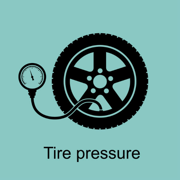 effects of tire pressure on tire