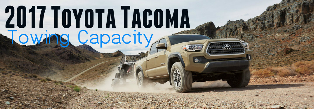 2017 toyota tacoma maximum towing capacity. Black Bedroom Furniture Sets. Home Design Ideas