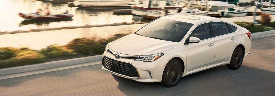 What Colors Does The 2018 Toyota Avalon Come In