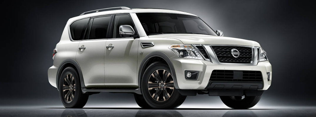 2017 Nissan Armada With Standard 8-Inch Touchscreen