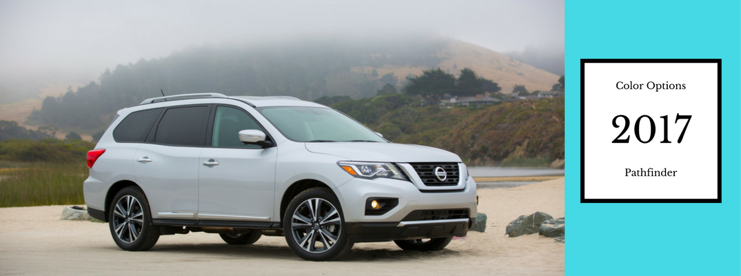 2017 Nissan Pathfinder Color Options And Trim Levels