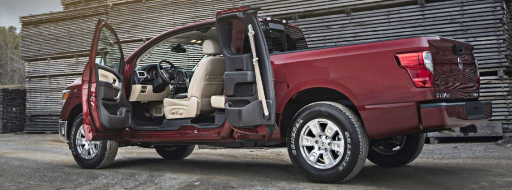 What is the Nissan Titan King Cab?