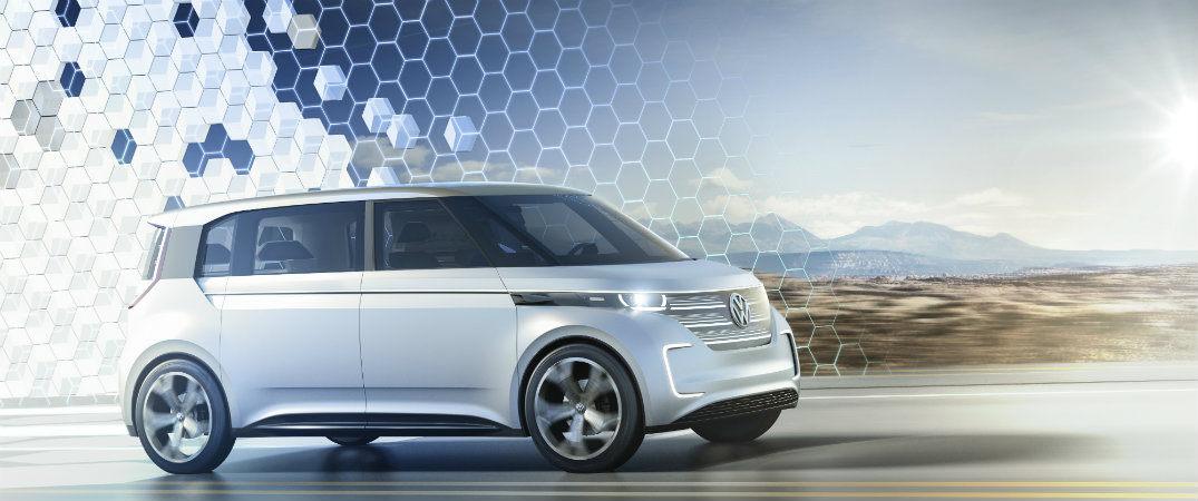 Is BUDD-e the new VW Microbus?