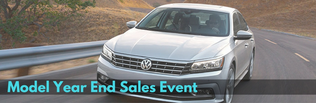 model year end sales event 2016 vw passat