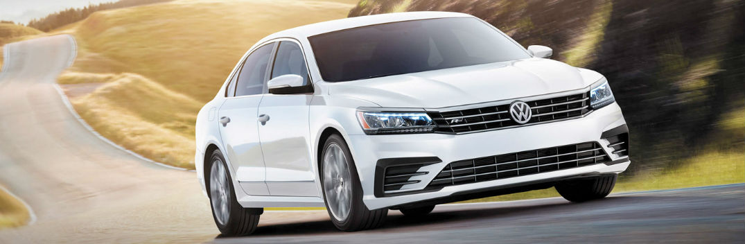 2019 volkswagen passat on the road