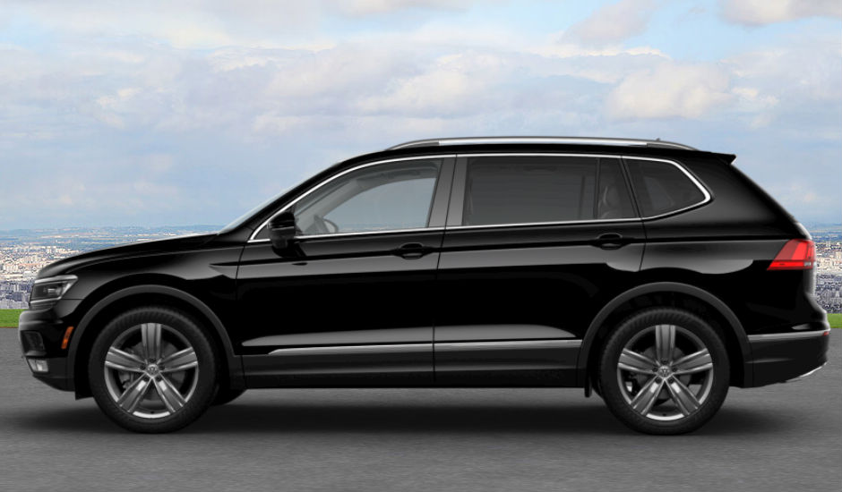 2018 Vw Tiguan Deep Black Pearl O Hall Volkswagen