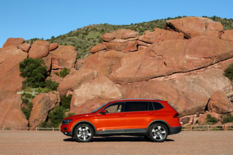2018 tiguan orange 4motion