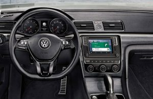 2019 VW Passat interior