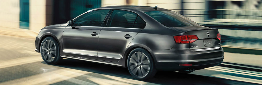 grey 2018 VW Jetta side exterior