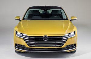 2019 VW Arteon front exterior profile