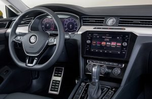 2019 VW Arteon front interior