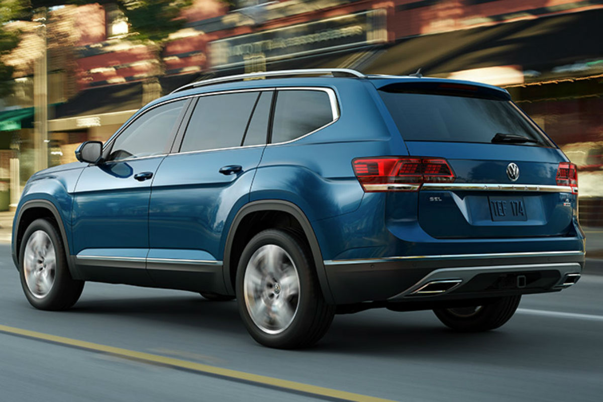 What Are The Interior Space Specs For The 2019 Vw Atlas