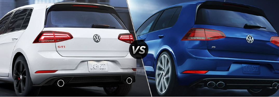 Differences between the 2019 Golf GTI and 2019 Golf R?