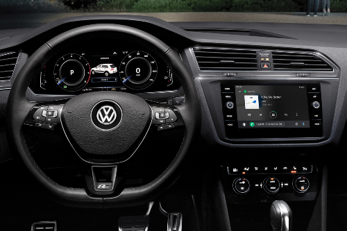 2020 Tiguan infotainment system showcase