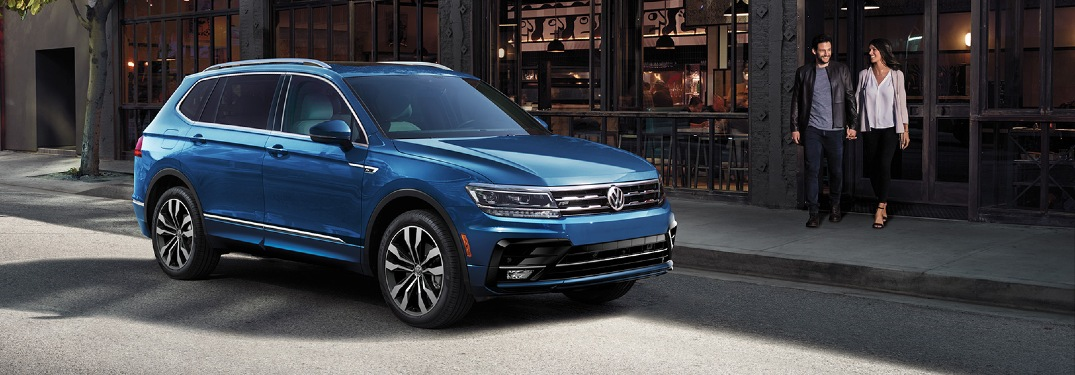 Does the 2020 Volkswagen Tiguan have three-row seating?