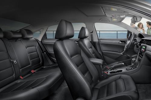 2020 Passat interior seating showcase
