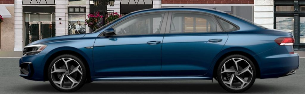 2020 Passat tourmaline blue