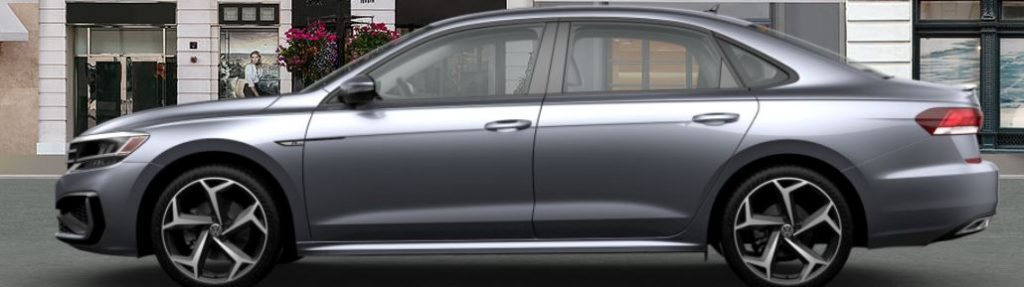 2020 Passat platinum gray
