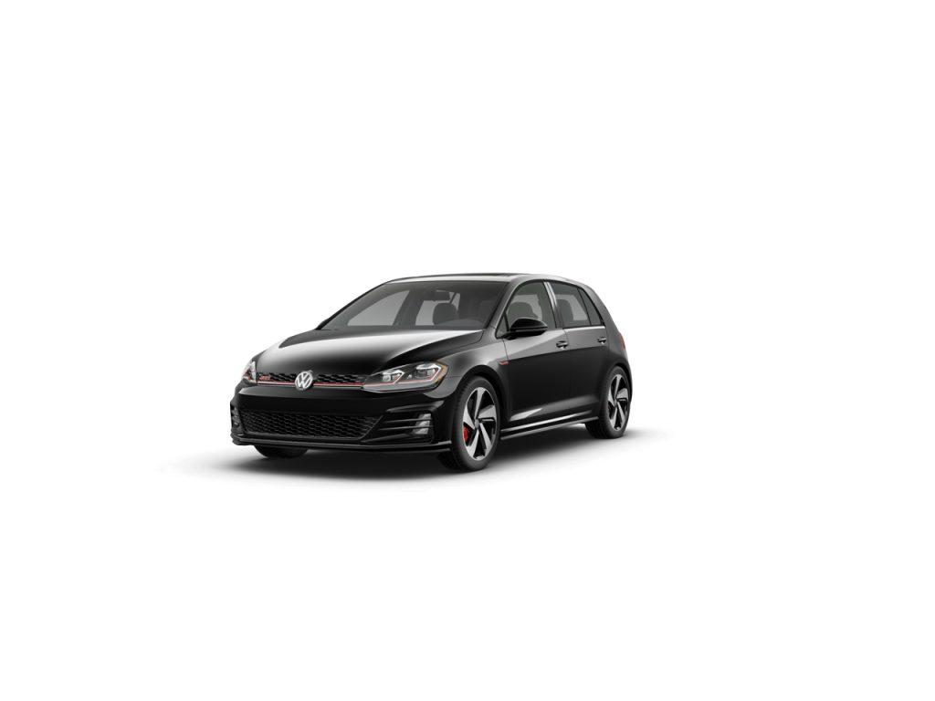 2020 Golf GTI deep black