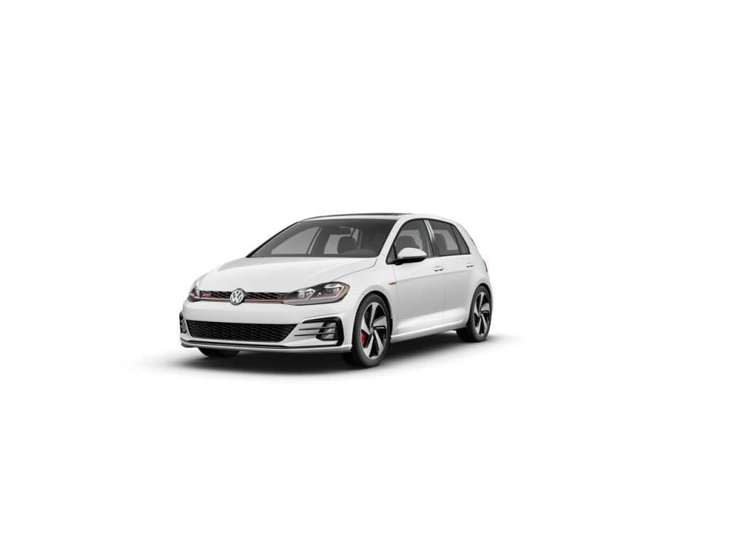 2020 Golf GTI pure white