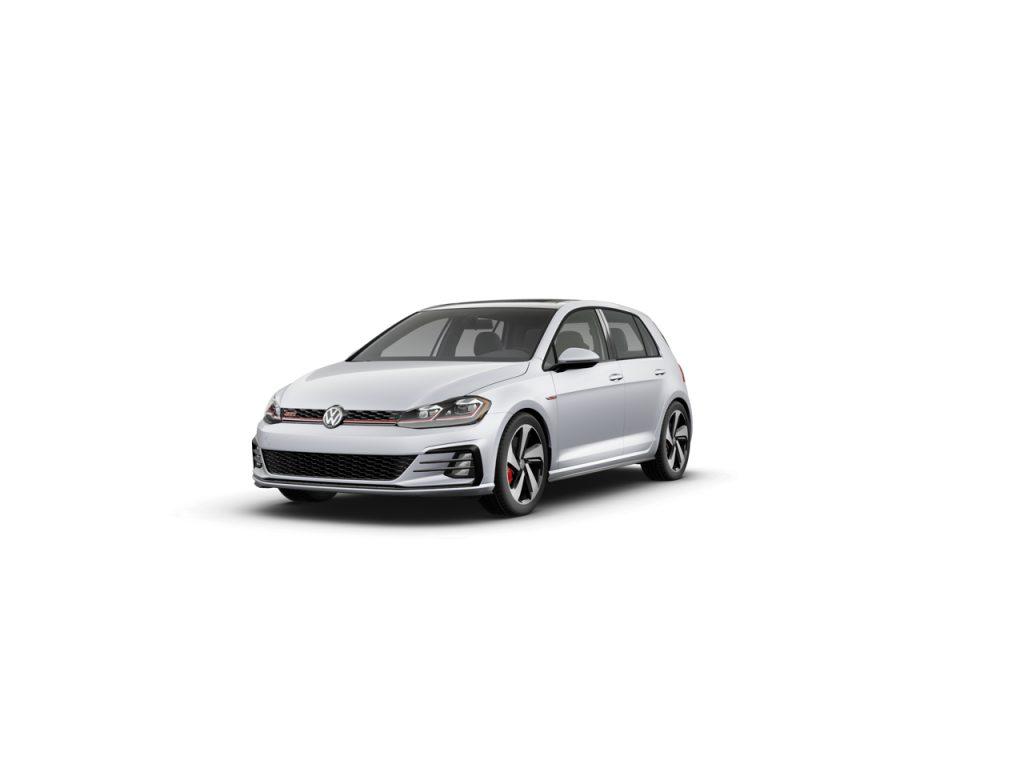 2020 Golf GTI white silver